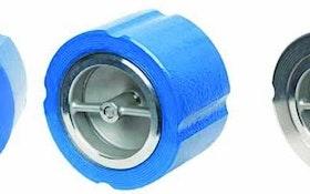 Flomatic silent wafer check valves