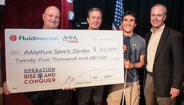 Plumber Industry News: Fluidmaster Donates $25K to Operation Rise and Conquer