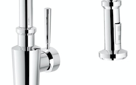 Fixtures - Franke Kitchen Systems Absinthe pull-down faucet