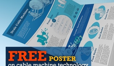 Free Cable Machine Tech Poster