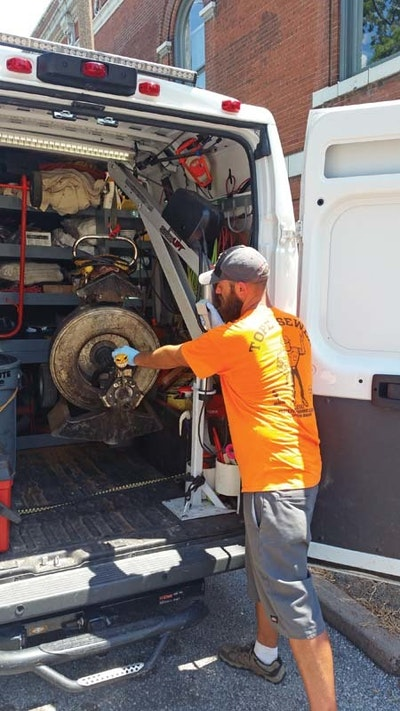 Truck Lift Lightens the Load for Plumbers