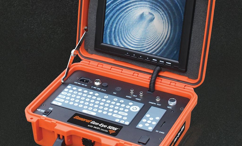General's Gen-Eye SDW Video Inspection System Has Wi-Fi Inside
