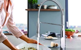 Grohe FootControl kitchen faucets