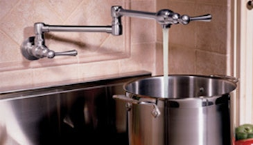 Plumber Product News: Grohe Cold-Water, Stove-Top Pot Filler