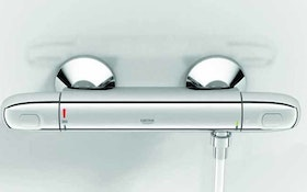Grohe shower water thermostat