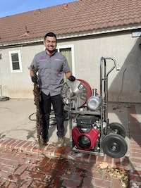 Jetter Provides Contractor Perfect Portability and Power Combo