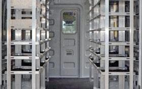 Shelving/Cranes - VT Hackney/Hackney aluminum van shelving