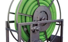 Hannay Reels VAC Series vacuum hose storage reel