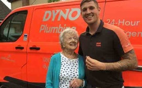 'Hero' Plumber Comes to Widow's Rescue