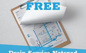 Drain Service Notepad