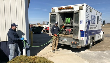 Former Ambulance Converted to Valuable Plumbing Tool