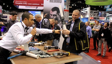 Bring on the Fight: AHR Expo Hosts Competition to Highlight Compression Fitting Systems