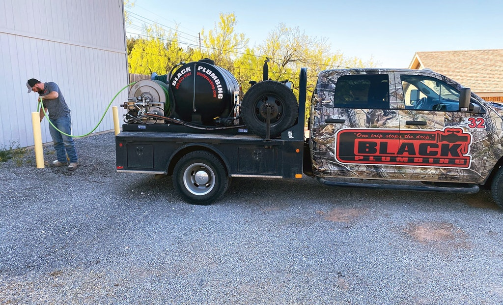 Trailer-Mounted Jetter Helps Plumber Draw in More Business