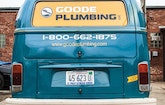 VW Transport Vans Give Goode Plumbing Advantage in Covering Territory