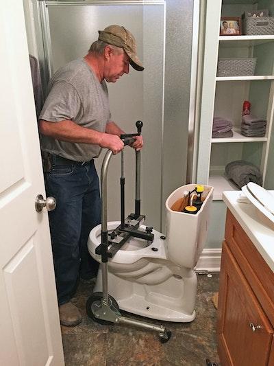 Contractors Finding Easier Ways to Handle Toilets