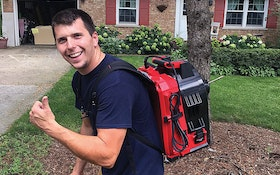 Plumber Says Portability Is Key With Backpack Style Sectional Drum Machine