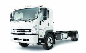 Isuzu four-cylinder medium-duty truck