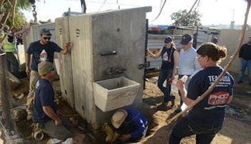 Students Collaborate to Improve Public Sanitation