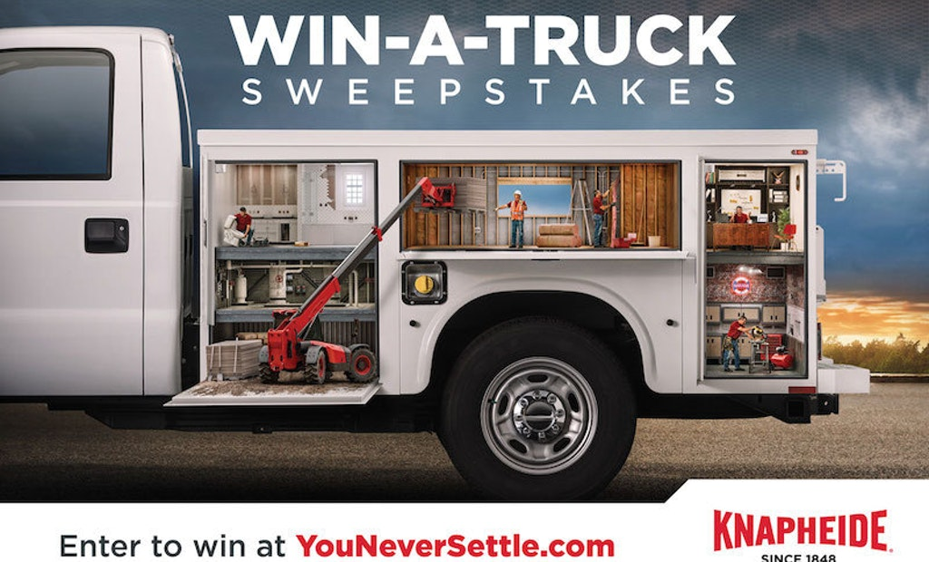 Introducing the Knapheide Win-a-Truck Sweepstakes