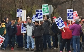 Plumbing Fixture Workers Protest Contract Offer
