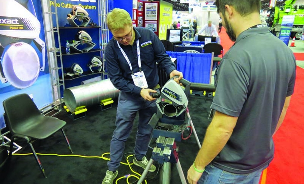 Pipe Saw Safely Cuts Through Metals and Plastics