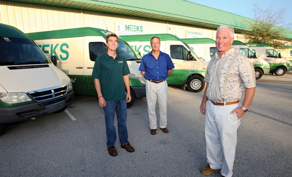 Plumbing Contractor Finds a New Way to Service Customers