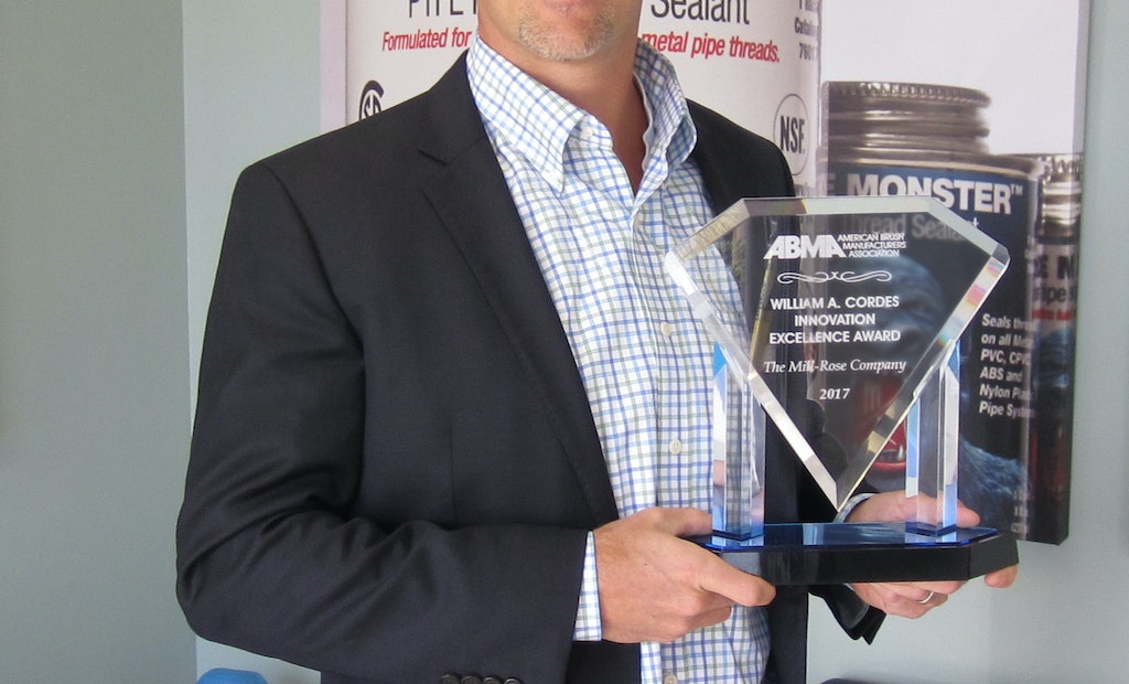 Plumber Industry News: Mill-Rose Wins 2017 Innovation Excellence Award