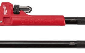 Plumber Product News: Milwaukee Tool Adaptable Pipe Wrench