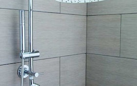 Moen Annex shower rail system