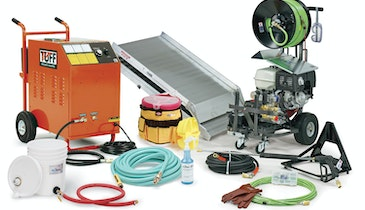 Heated Jetter Package Clears Frozen and Grease-Choked Lines