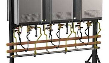Plumber Product News: Noritz Tankless Water Heater Racks