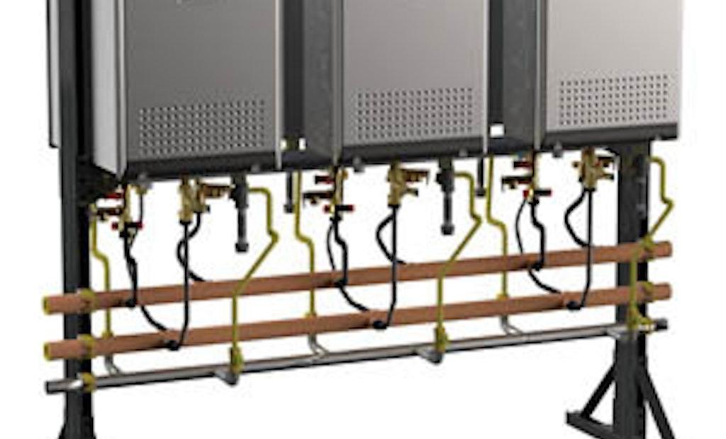 Plumber Product News: Noritz Tankless Water Heater Racks