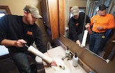 Husband, Wife Start Plumbing Business After Rough Times, Make It a Success