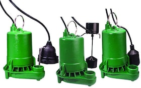 Pentair submersible sump pumps