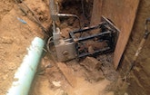 Dammed Lateral Causes Headaches for Plumber