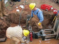 Plumber Uses Pipe Bursting Method to Repair Broken Line for Customers