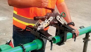 Pipe Fusion Machine Makes Jobs More Productive