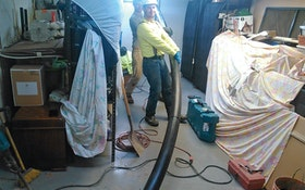 Plumbing Contractor Uses Vacuum Excavator to Help Get New Pipe In