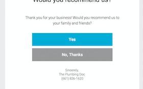 Online App Improves Customer Ratings for California Plumbing Company