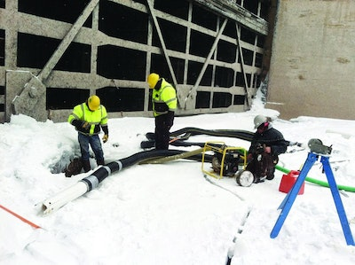 Michigan Contractor Cleans Poe Lock Manholes and Drainage System