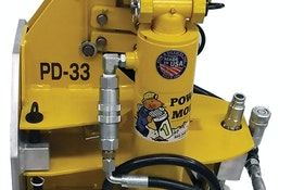 Bursting - Pow-r Mole Trenchless Solutions model PD-33M