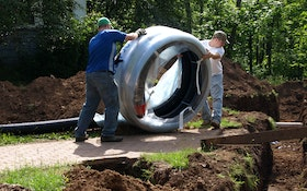 Pre-Insulated PEX Pipe Benefits Underground Hot-Water Applications