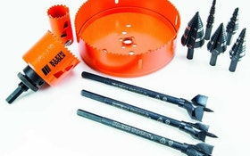 Klein Tools hole-making products designed for quicker, cleaner cuts