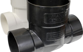 Straight-Fit Backwater Valves Provide Easy Access