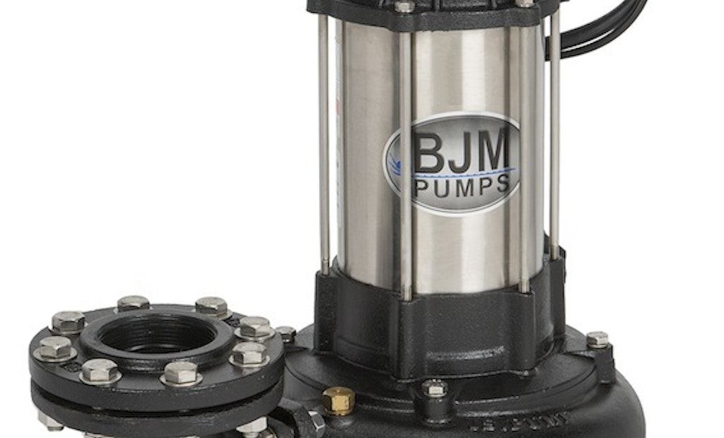 Solids-handling submersible pumps shred flushable wipes