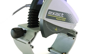 Portable pipe saws deliver precision cuts in steel and plastic