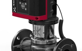 Spotlight: Pump monitors pressure and temperature in heating and cooling systems