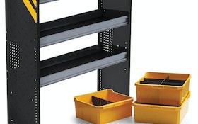 Shelving/Cranes - Ranger Design van shelving