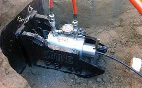 Bursting - RODDIE lateral pipe bursting machine