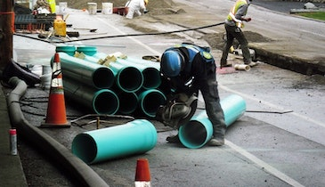 Case Study: Challenging Conditions No Match for Sewer Pipe System